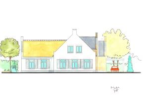 Schets Cottage villa te Breda