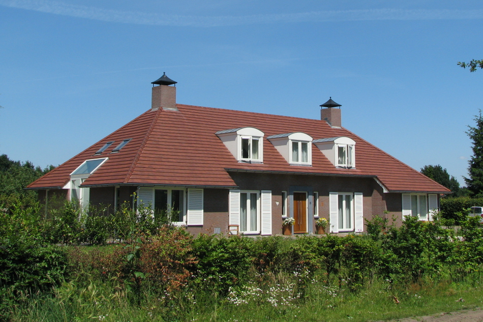 Landhuis in Heesch - entree