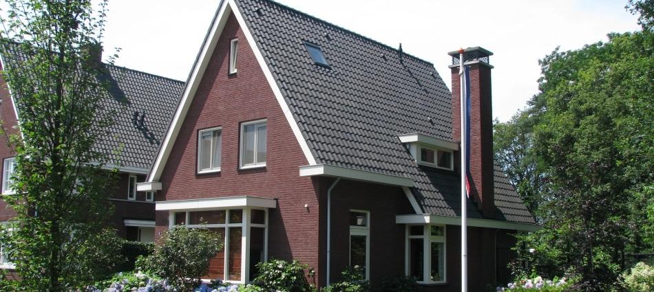 Jaren-30 woning in Vlindervallei Oosterhout - aanzicht