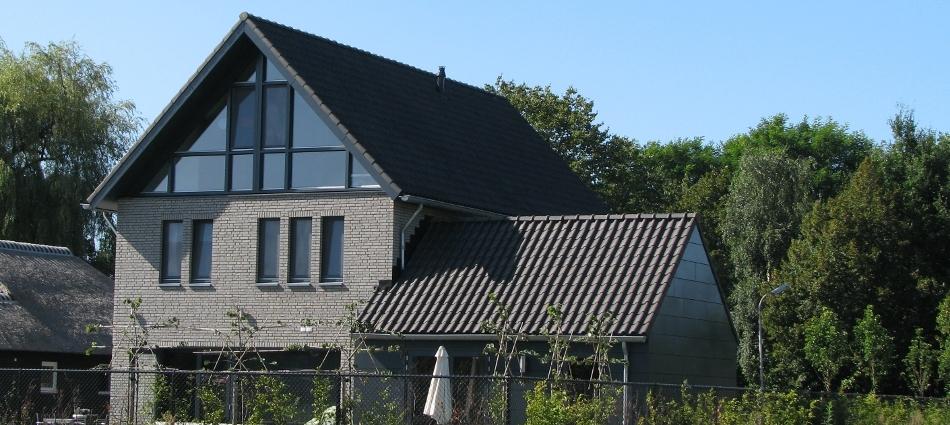 Moderne stadsvilla Groen van Leijsen Oosterhout