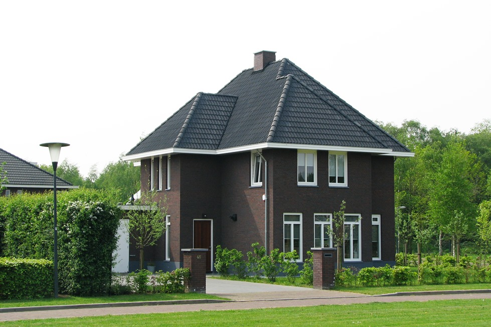 Jaren 30 woning in bavel architectenbureau van mierlo - Ontwerp jaren ...