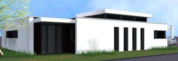 Moderne bungalow Rijsbergen